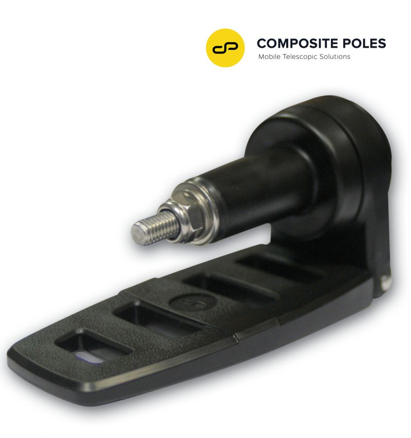 composite telescopic pole rotating footplate, industrial