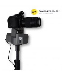 PAN AND TILT POWERED HEAD WITH REMOTE AND EXTENSIO