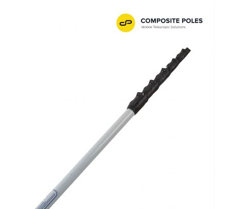 GLASS FIBRE 8-MTR POLE WITH CAMERA ATTACHMENT