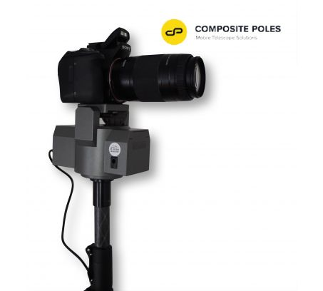 Pan & Tilt Powered Head with Remote & Lead