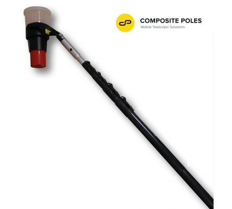 V2™ VERTIFIER Carbon Pole, 5-section 28ft Reach