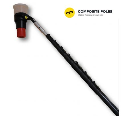V2™ VERTIFIER Carbon Pole, 8-section 40ft Reach