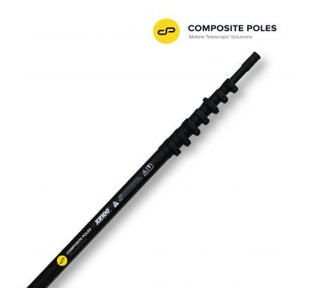 10-METRE CARBON FIBRE POLE FOR COMPACT CAMERAS